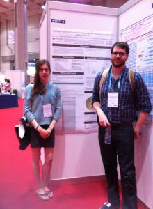 Amanda presentied her poster on epigenetic factors in Wilm's Tumour, while Dan gave an oral presentation about MAP3K6 in Heritable Gastric Cancer at the ESHG in Milan, 2014